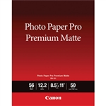 Canon PM-101 Photo Paper Pro Premium Matte 8.5x11 (50 sheets)