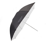 UMBRELLA 45in PROF BLACK/WHITE