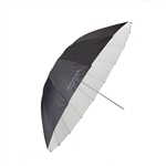 UMBRELLA 60in PROF BLACK/WHITE