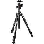Manfrotto Befree Advanced Travel Aluminum Tripod with 494 Ball Head -Black