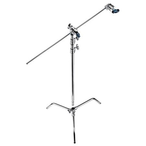 "C STAND 30"",BASE,EXT.ARM W/GRIP HEAD"