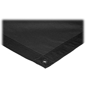 Matthews Butterfly/Overhead Fabric - 12x12' - Solid Black