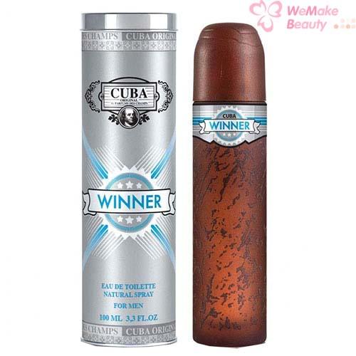 Details about Cuba Winner by Fragluxe for Men 3.3oz Eau De Toilette Spray New In Box