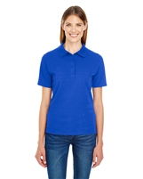 Hanes 035P Ladies' 6.5 oz. X-Temp® Piqué Short-Sleeve Polo Shirts with Fresh IQ