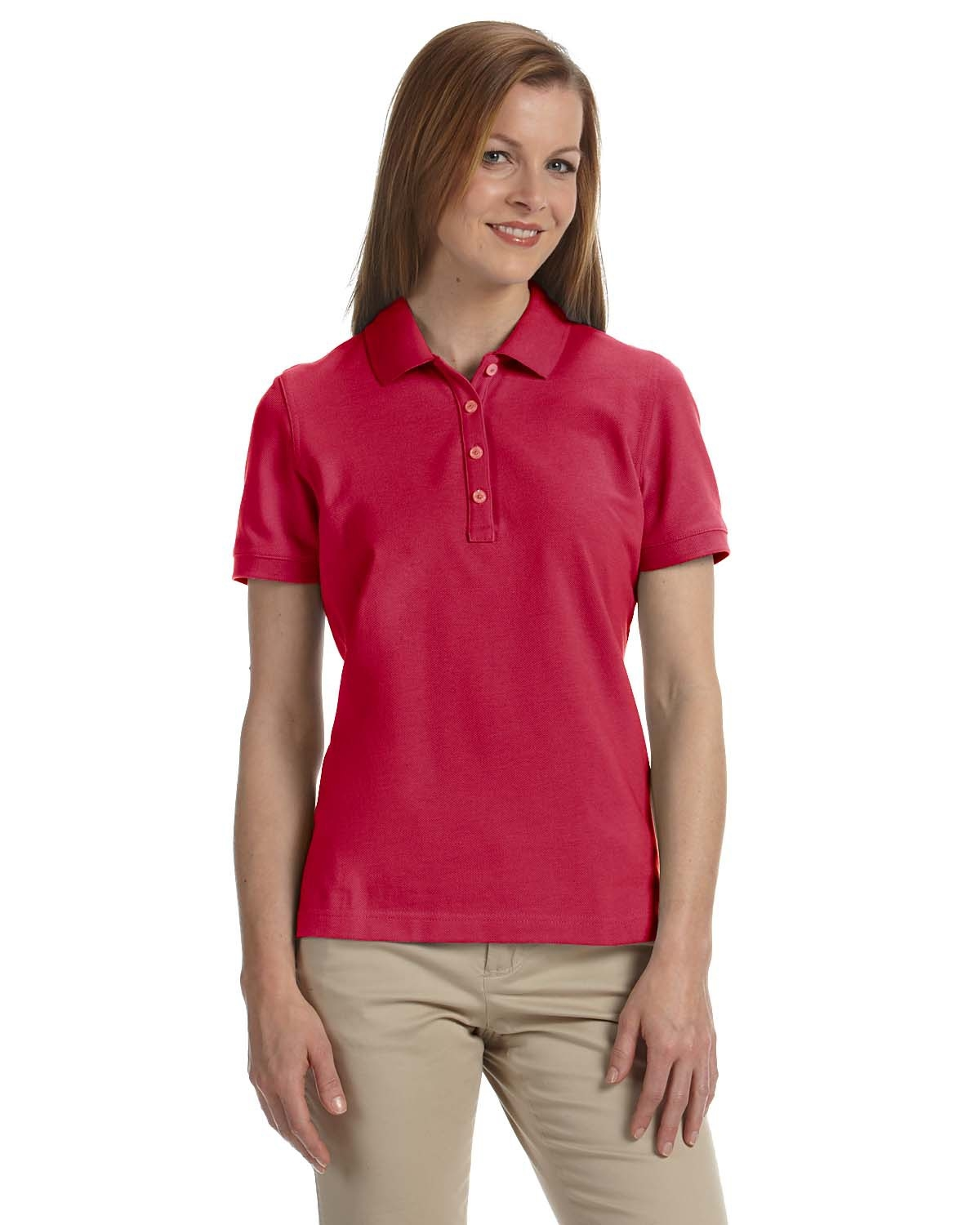 Ashworth Golf Ladies  Combed Cotton Pique Polo Shirts 1146C. Up to 25% off. 6bd608657
