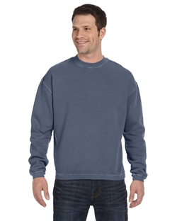 Authentic Pigment 11 oz. Pigment-Dyed Ringspun Cotton Fleece Crew 11561.
