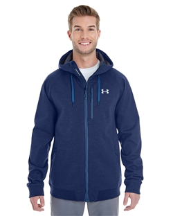 Under Armour 1246888 Men's CGI Dobson Soft Shell Full Zip Hoodies
