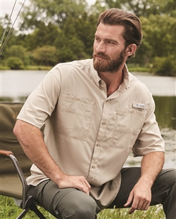 Columbia Men's PFG Tamiami™ II Short-Sleeve Fishing Shirts 128705