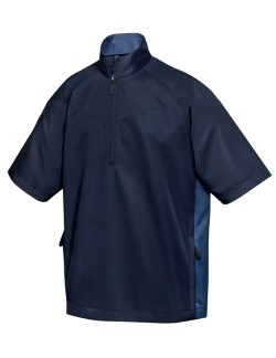 Tri-Mountain 2610 Icon Mens Windproof/Water Resistant 1/2 Zip Short Sleeve Windshirts. Up to 25% Off. Free Shipping available.