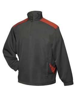 Tri-Mountain 2650 Parkview Mens Windproof/Water resistant 1/4 Zip Long Sleeve Windshirts. Up to 25% Off. Free Shipping available.