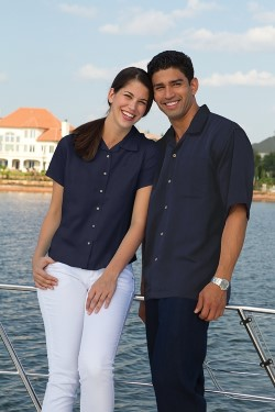Inner Harbor 3001 Ladies' Fine Bedford Cord Camp Shirt
