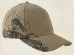 Dri Duck WALLEYE Wildlife Caps 3269. Embroidery available. Quantity Discounts. Same Day Shipping available on Blanks. No Minimum Purchase Required.