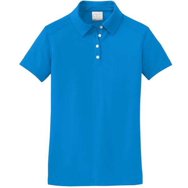 Nike golf 354064 ladies dri fit pebble texture polo shirts for Nike womens golf shirts polo