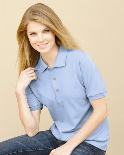 Gildan 3800L Ladies Ultra Cotton Pique Knit Sport Shirts. Up to 25% off. Free shipping available. 30 Day Return Policy.
