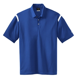 Nike Golf 402394 Mens Dri-Fit Shoulder Stripe Polo Shirts