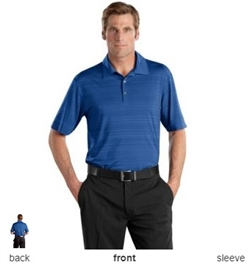 NIKE GOLF 429438 Mens Elite Series Dri-FIT Heather Fine Line Bonded Polo Shirts