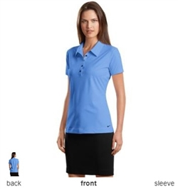 Nike Golf 429461 Ladies Elite Series Dri-FIT Ottoman Bonded Polo Shirts