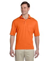 Jerzees 436MP 5.6 oz 50/50 Jersey Pocket Polo with SpotShield