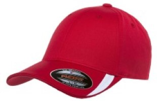 Yupoong / Flexfit with Cut on Visor Cap 5006. Embroidery available. Quantity Discounts.