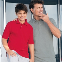 Inner Harbor 7001 Men's Mainsail Mesh Pique Polo Shirts