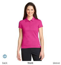 Nike Golf Ladies Dri-FIT Solid Icon Pique Polo Shirts 746100