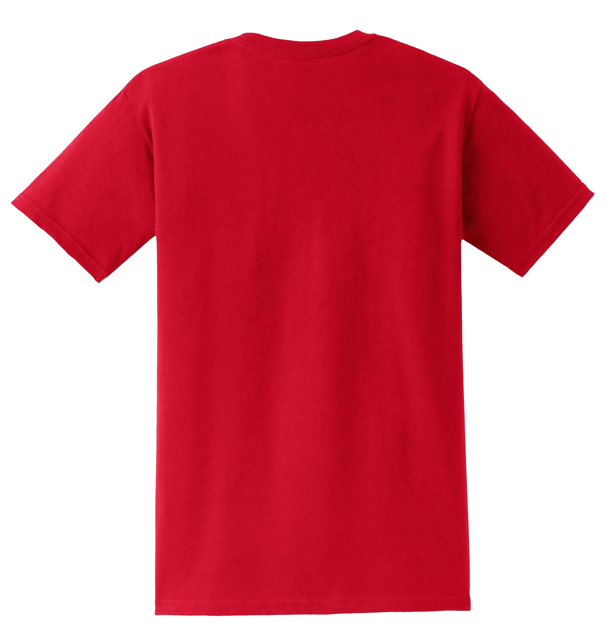 Gildan 8300 dryblend 50 cotton 50 poly pocket t shirts for Gildan brand t shirt size chart