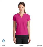 Nike Golf 838960 Ladies Dri-FIT Stretch Woven V-Neck Top