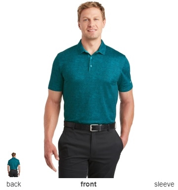 de5b5c31db94c Nike Golf 838965 Dri-FIT Crosshatch Polo Shirts