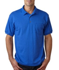 Gildan 8900 Mens 50/50 Ultra Blend Jersey Polo Shirt with Pocket. Up to 25% Off. Free Shipping available.