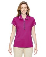 adidas Golf A126 Ladies' Piped Fashion Polo Shirts