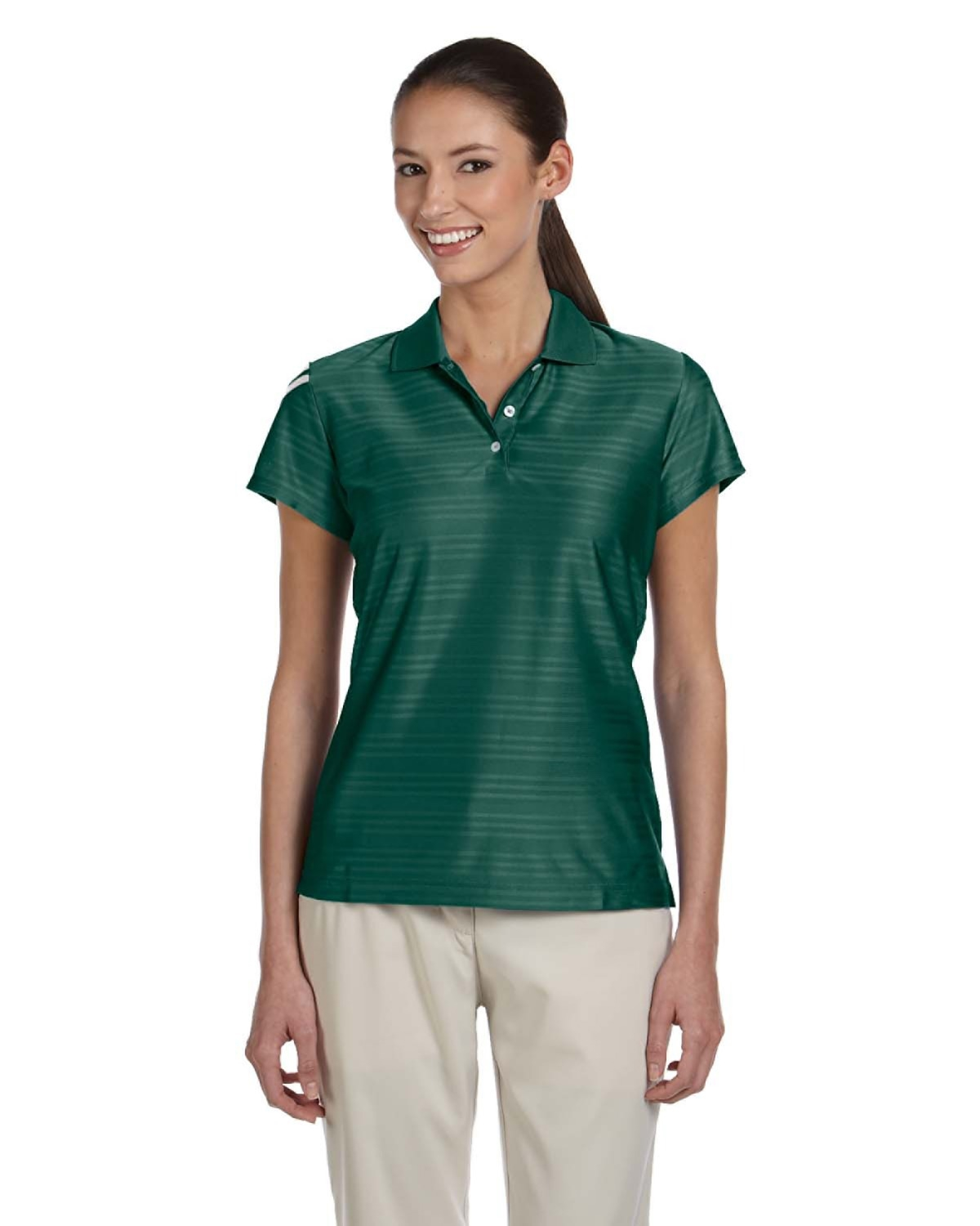 Adidas Golf A135 Womens ClimaCool Mesh Polo Shirts 5196648544