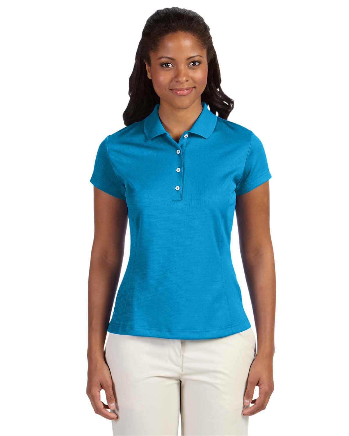 Adidas Golf A171 Ladies Climalite Solid Polo Shirts