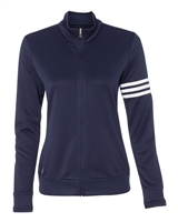 adidas Golf A191 Ladies' climalite 3-Stripes Full-Zip Jacket