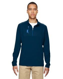 adidas Golf A195 puremotion Mixed Media Quarter-Zip