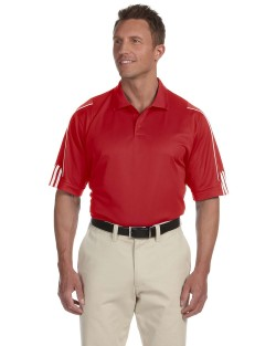 Adidas Golf A76 Mens ClimaLite 3-Stripes Cuff Polo Shirts. Up to 25% off. Free shipping available. 30 Day Return Policy.