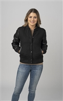 Burk's Bay Wool Leather Varsity Jacket 5030