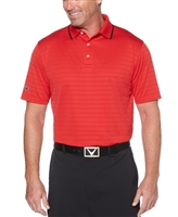 Callaway CGM5560 Men's Raised Ottoman Polo Shirts