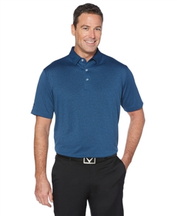 Callaway CGM610 Heather Jacquard Polo Shirts