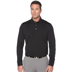 CGM670 LONG SLEEVE CORE PERFORMANCE POLO SHIRTS
