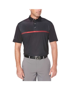 Callaway CGM712 Men's Modern Chest Stripe Polo Shirts