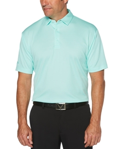 Callaway CGM738 Diamond Jacquard Polo Shirts