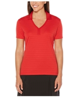 Callaway CGW565 Ladies Raised Ottoman Polo Shirts