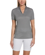 Callaway CGW774 Women's Diamond Jacquard Polo Shirts