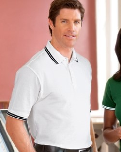 Chestnut Hill CH113 Mens Tipped Performance Plus Pique Polo Shirts. Up to 25% Off. Free Shipping available.