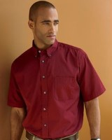 Chestnut Hill Mens Short-Sleeve 32 Singles Twill Shirts CH505. Embroidery available. Quantity Discounts. Same Day Shipping available on Blanks. No Minimum Purchase Required.