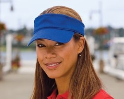 Port & Company Fashion Visors CP45. Embroidery available. Same Day Shipping available on blanks. Quantity Discounts. No Minimum Purchase Required.