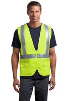 CornerStone CSV405 ANSI 107 Class 2 Mesh Back Safety Vest