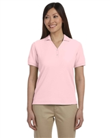 Devon & Jones Ladies Short Sleeve Pima Pique Polo Shirts D100W.