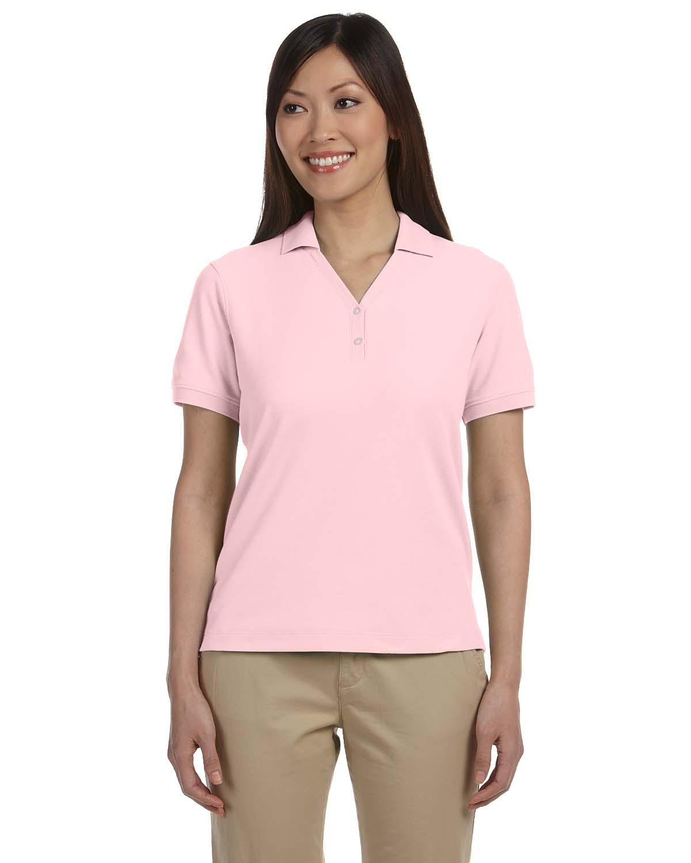 6b16dcbc Devon & Jones D100W Ladies' Short Sleeve Pima Pique Polo Shirts