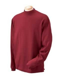 Devon & Jones Mens Sueded Mock Turtlenecks D420. Embroidery available. Same Day Shipping available. Quantity Discounts. No Minimum Purchase Required.
